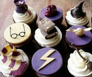 cupcakes and harry potter image