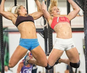 athlete, beauty, and fitness image