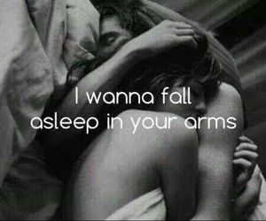 arms, asleep, and cuddle image