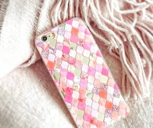 accessories, scarf, and pink image