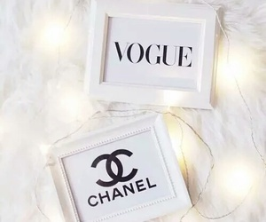 chanel, vogue, and white image
