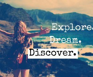 boy, discover, and Dream image