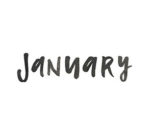 january, new year, and month image