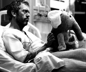house, dr house, and hugh laurie image