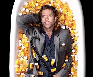 house, house md, and dr house image
