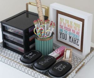 creative, makeup, and organization image