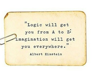 quotes, imagination, and logic image