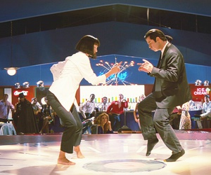 dance, pulp fiction, and junkie image
