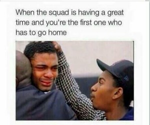 funny, squad, and friends image