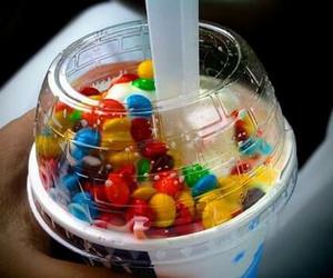 food, ice cream, and m&m's image