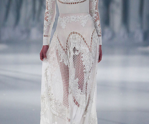 beautiful, dress, and haute couture image