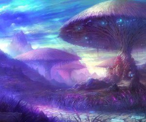 fantasy, mushroom, and art image