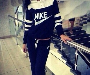 nike, girl, and outfit image