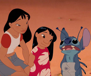 disney, family, and stitch image