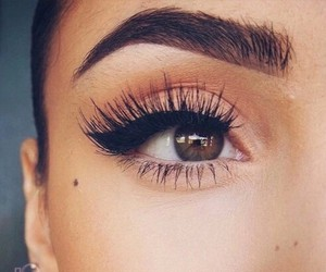 fashion, makeup, and eyebrows image