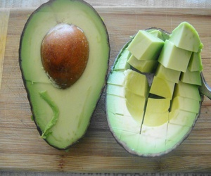 avocado, healthy, and food image
