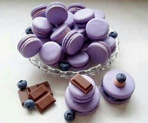 food, chocolate, and purple image
