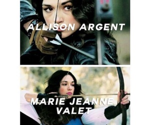 teen wolf, argent, and girl image