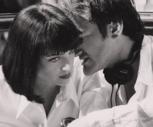 pulp fiction, quentin tarantino, and uma thurman image