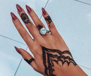 accessories, fashion, and long nails image