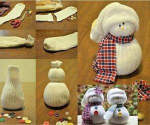 diy, snowman, and christmas image