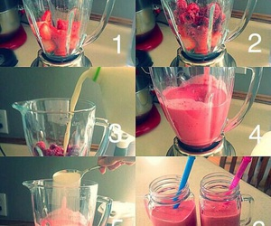 diy, food, and smoothie image