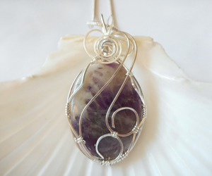 amethyst, handmade, and jewelry image