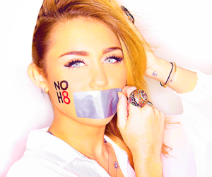 miley cyrus, noh8, and miley image