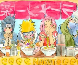 anime, ramen, and naurto shippuden image
