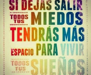 Dream, fear, and frases image
