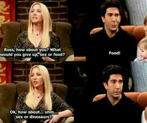 ross geller, funny., and friends image