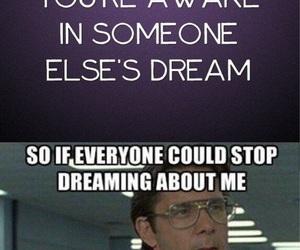 Dream, funny, and sleep image