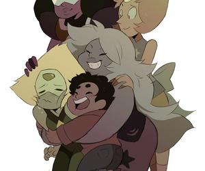 hug, cute, and steven universe image