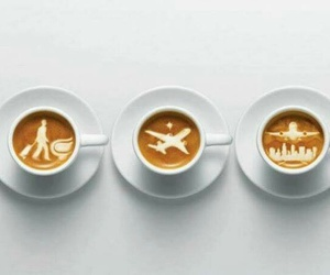 coffee, travel, and art image