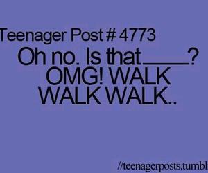 teenager post, funny, and OMG image