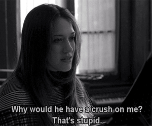 crush, stupid, and quotes image