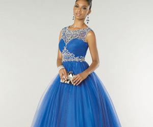 prom dress, fashion dress, and prom gown image