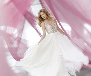 princess, beautiful, and bouquet image