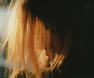 girl, hair, and film image