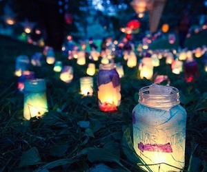 candle, lights, and wonder image