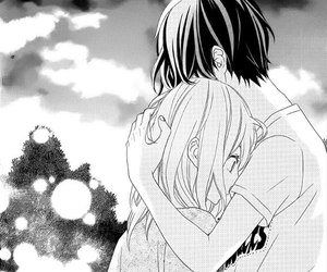 manga, hug, and shoujo image