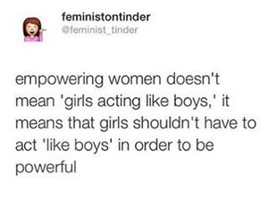 feminism, funny, and girls image