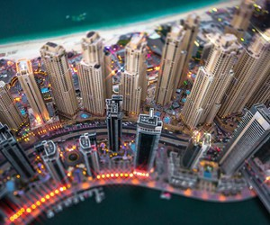 Dubai, landscapes, and Towers image