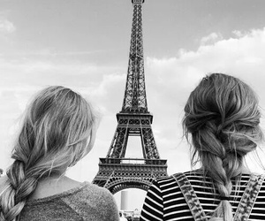 paris, girl, and braid image