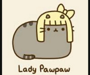 Lady gaga, pusheen, and cat image