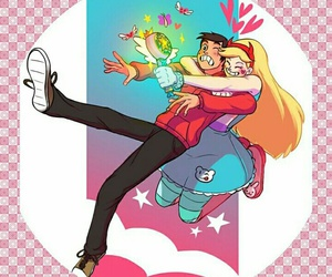 starco, star and marco, and starvstheforcesofevil image