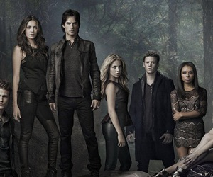 tvd, the vampire diaries, and damon image