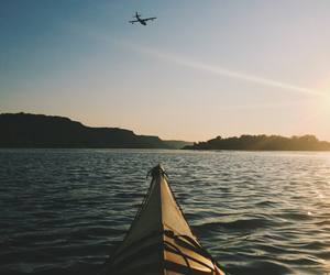 airplane, photography, and summer image