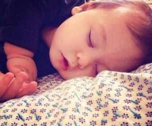 baby boy, cute baby, and sleep image