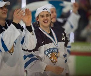 finland, hockey, and sebastian aho image